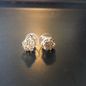 Kendra Scott Tessa Drusy Gold Stud Earrings